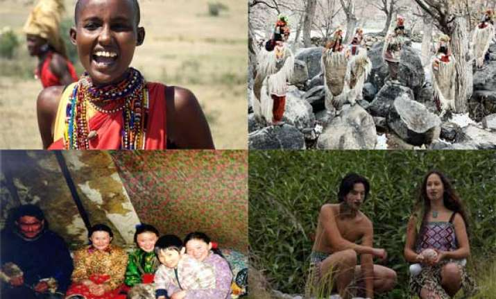 watch in pics vanishing tribes of the world