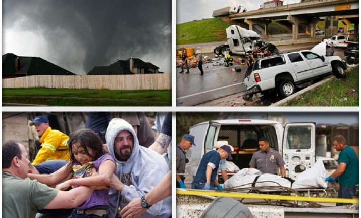 watch in pics the devastation caused by massive tornado in