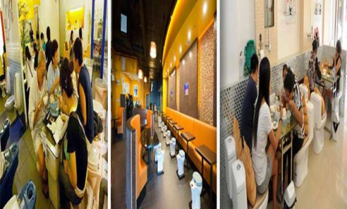 watch in pics trendy toilet themed restaurants