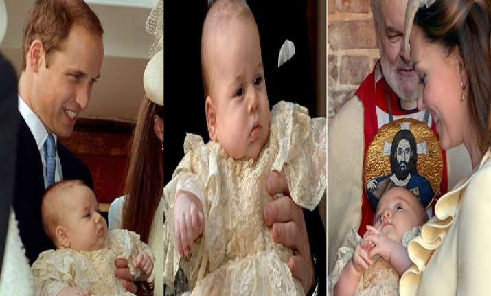 watch pics of christening ceremony of royal baby prince