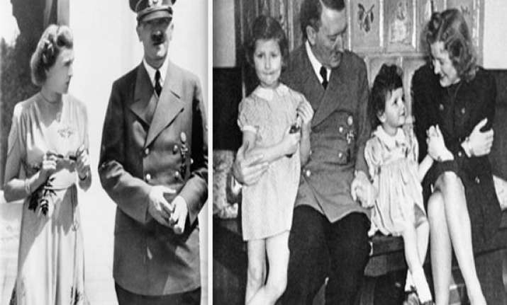 watch rare pics from hitler s personal album