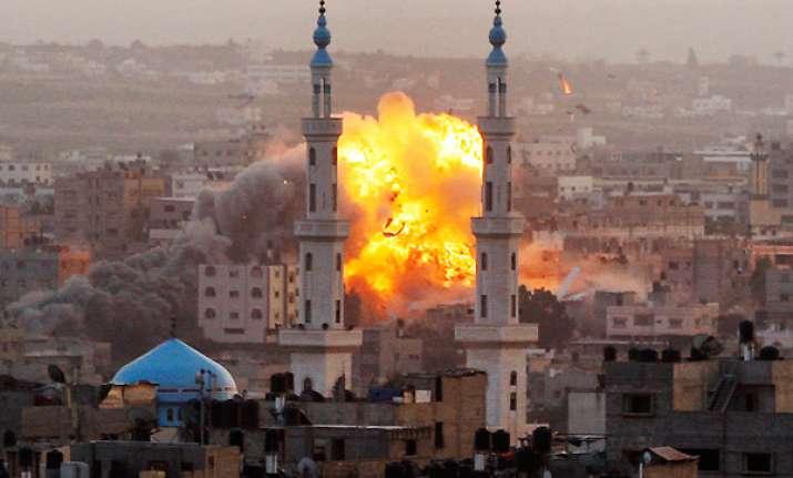 watch how israeli airstrikes are causing devastation in gaza