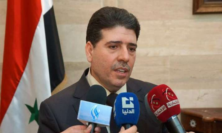 we will surprise aggressors says syrian pm