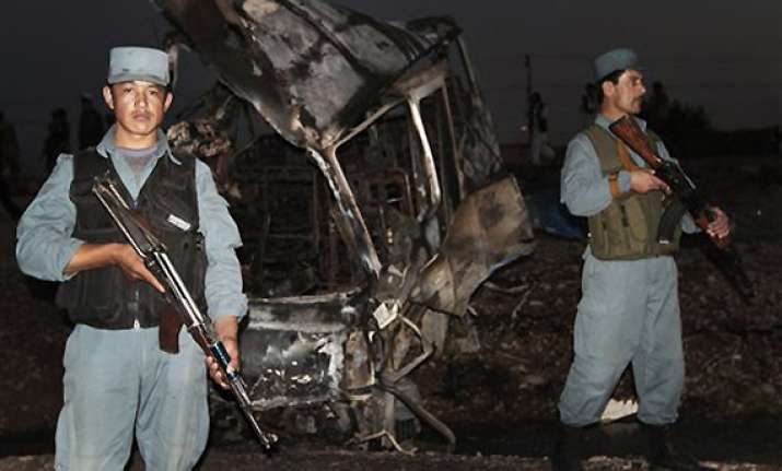 well known afghan commander among 20 dead in blast