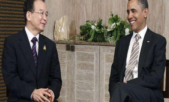 wen meets obama