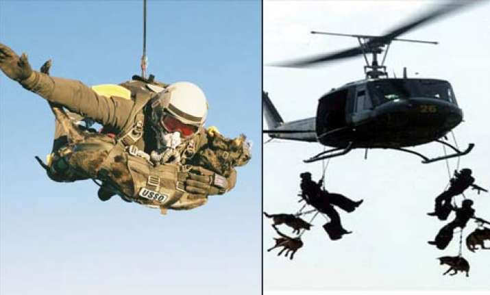 why did the us send a dog to catch osama