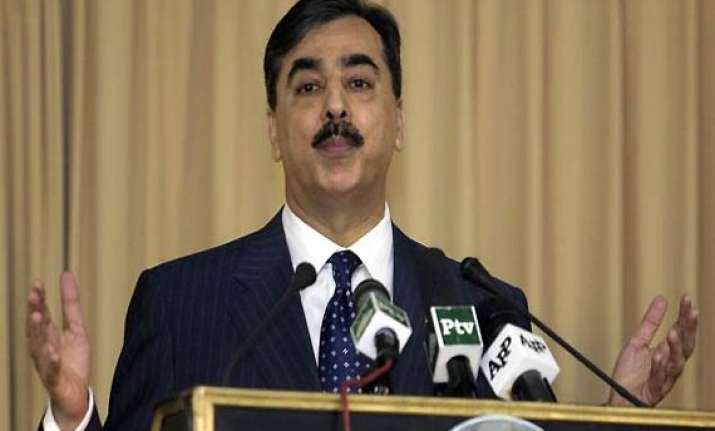 will seek surety and guarantees from us gilani