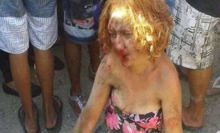 woman lynched after facebook post declared her a witch