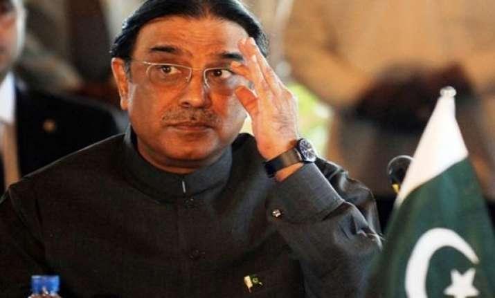 won t contest presidential poll announces zardari