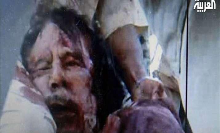 world leaders greet gaddafi s death