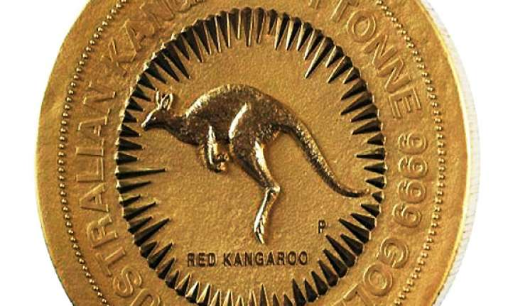 world s largest gold coin unveiled weight 1 tonne
