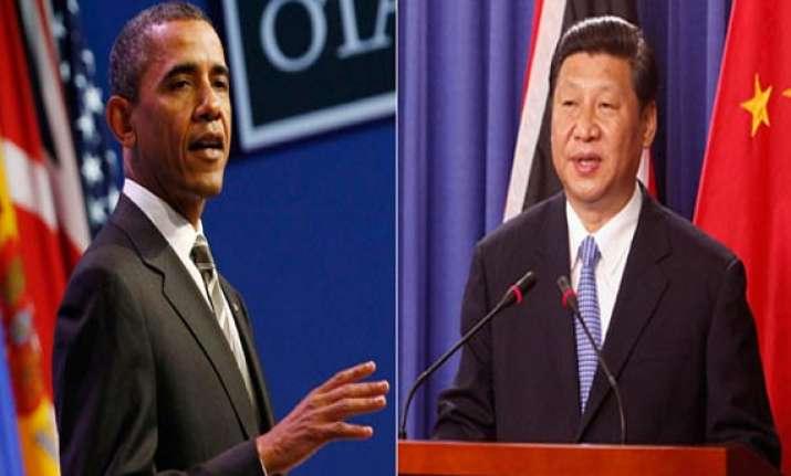 xi obama hold second meet on economic ties