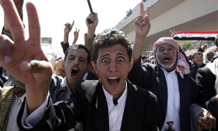 yemen s saleh demands us eu guarantees to quit
