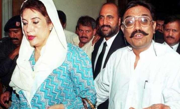 zardari wants wife benazir s jewellery back from switzerland