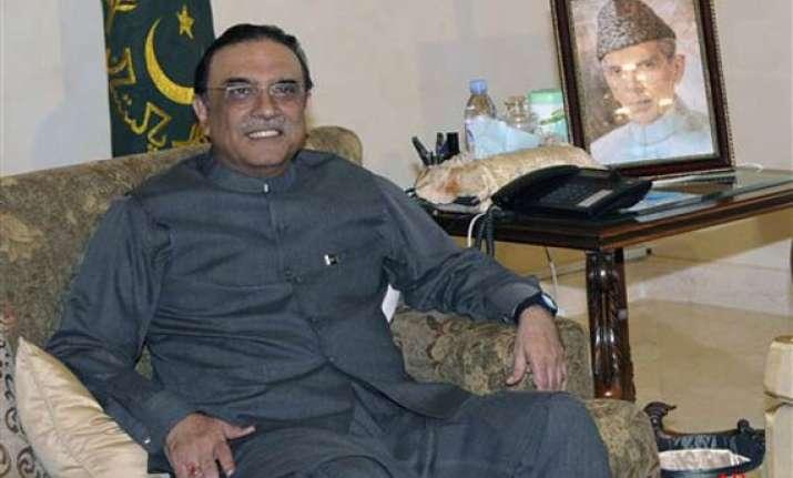 zardari back in islamabad