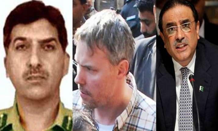 zardari gilani ordered raymond davis release isi chief