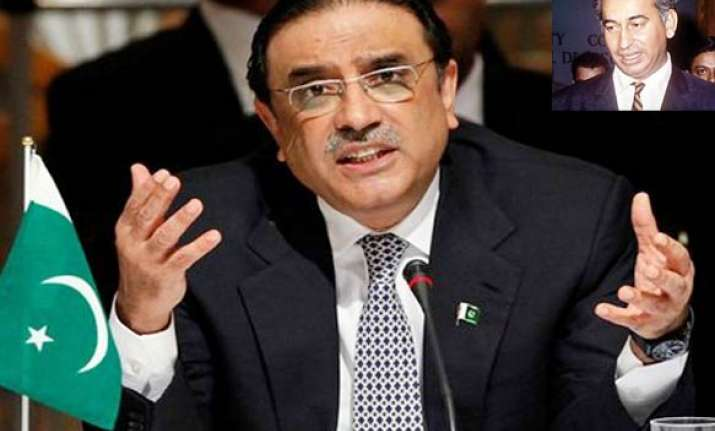 zardari gives assent for review of bhutto s death sentence