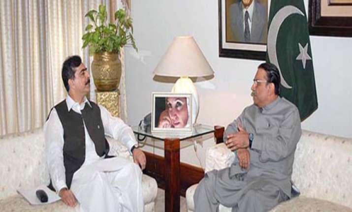 zardari is our pace attack bowler gilani