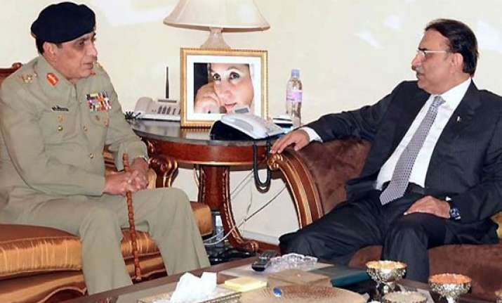 zardari s secret memo shakes up pak army political