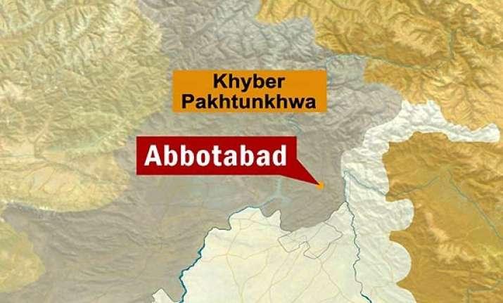 2 blasts heard in abbottabad