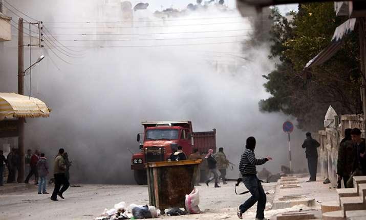 22 killed across syria army bombards idlib