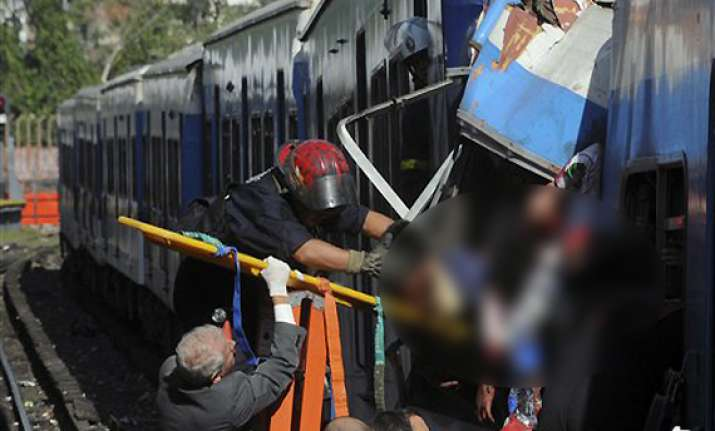 49 killed as train slams into station in argentina