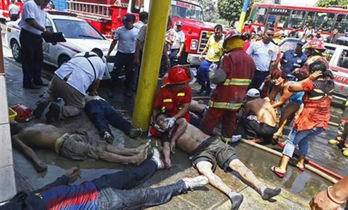 24 killed in fire at rehabilitation center in peru