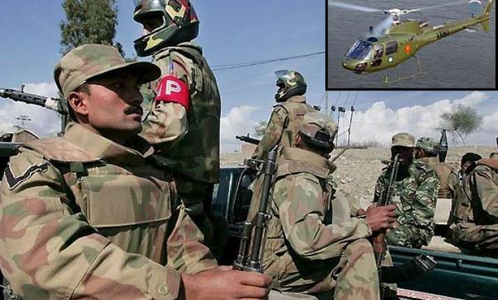 200 pak army men 4 pak choppers provided support in kill