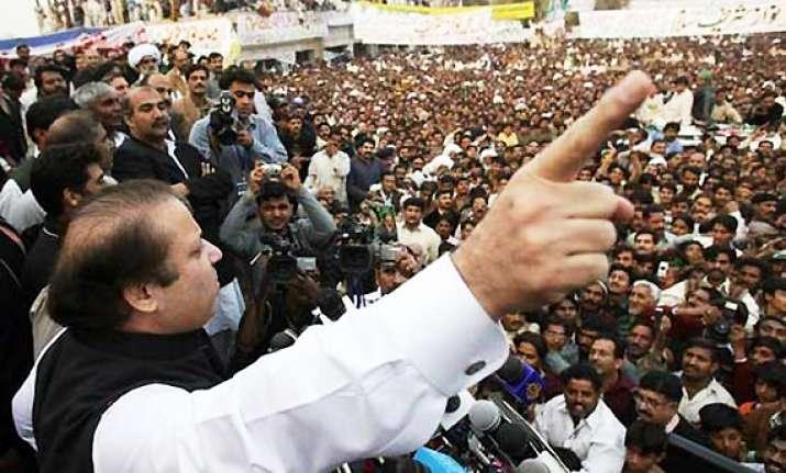30 000 strong pml n rally demands zardari ouster
