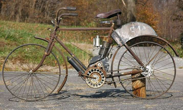 105 year old indian bicycle to fetch rs 41.48 lakhs at