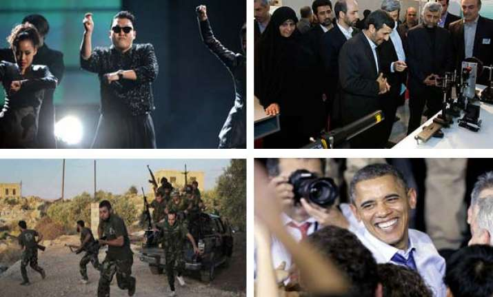 10 big world events of 2012