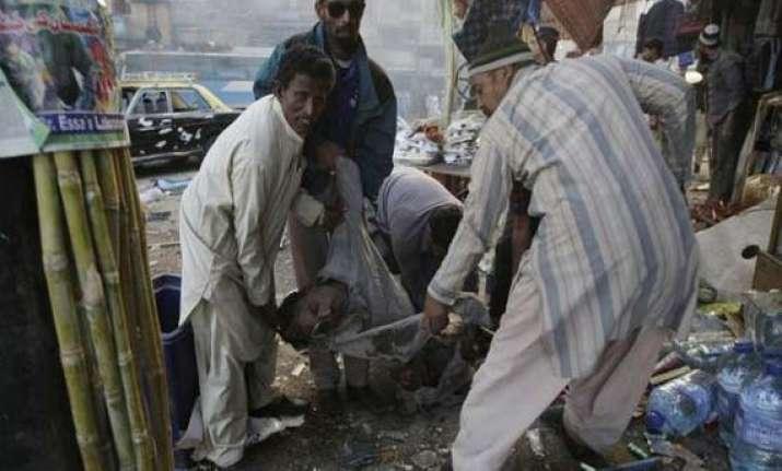 6 killed 50 injured in pak blast