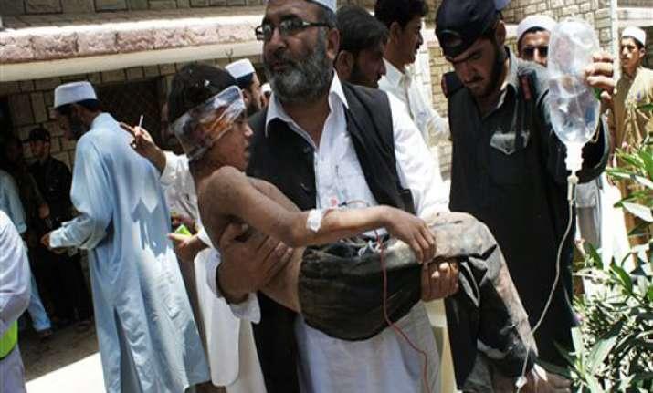 5 killed 18 injured in blast at railway station in
