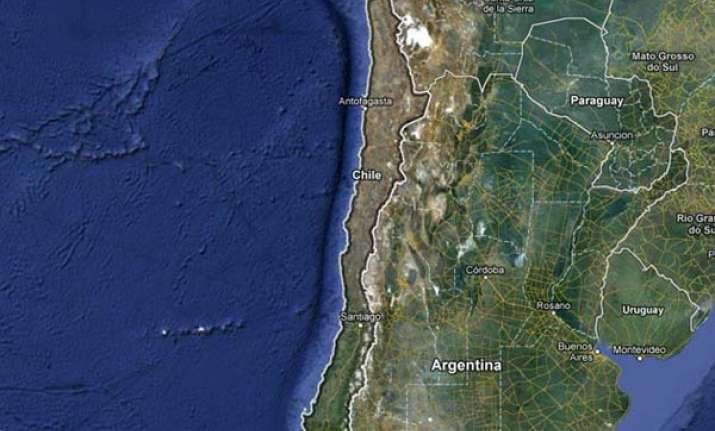6.3 quake hits chile