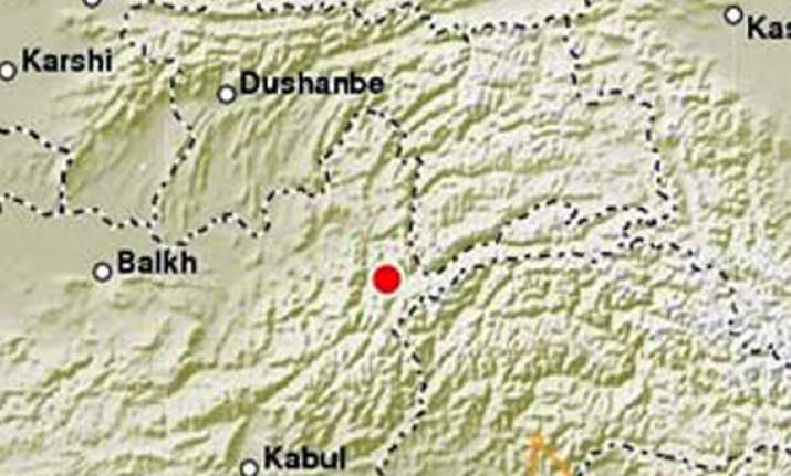 5.8 quake hits pakistan