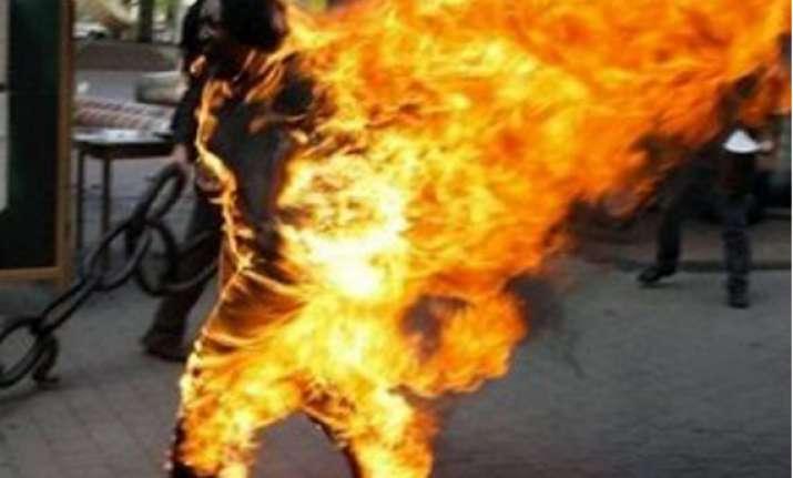 10th tibetan monk self immolates in anti china protest