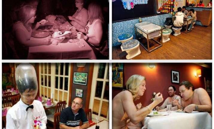 7 weirdest wackiest restaurants around the world