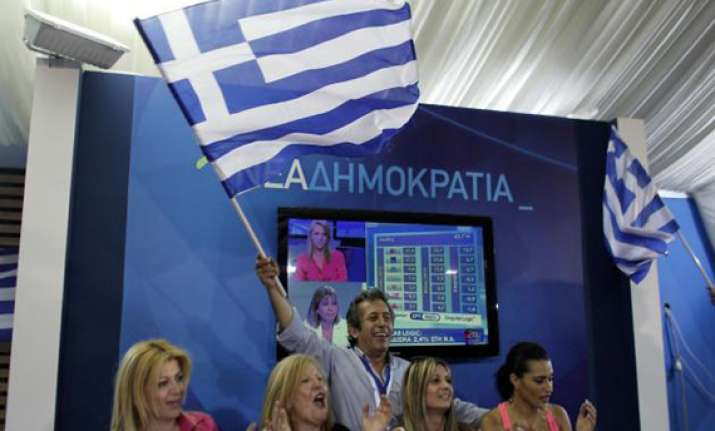 pro bailout parties to form govt in greece