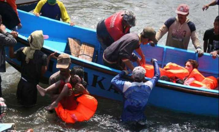 12 killed as boat capsizes in indonesia