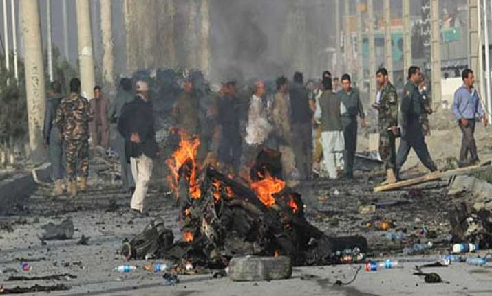 8 killed in afghan suicide bomb attack