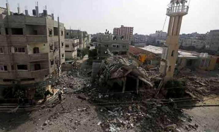7 killed in israeli air strikes as gaza war enters 47th day