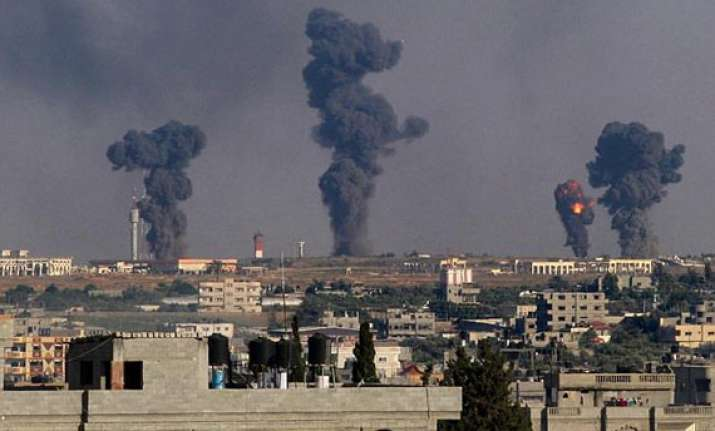 12 killed in israeli air strikes on 48th day of gaza war