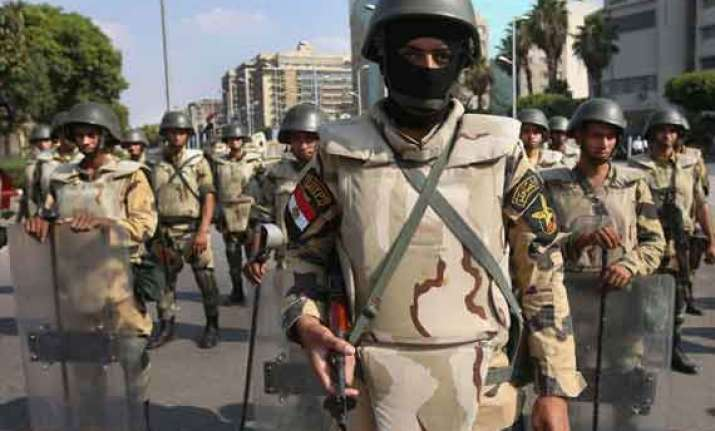 16 killed in army raid in egypt