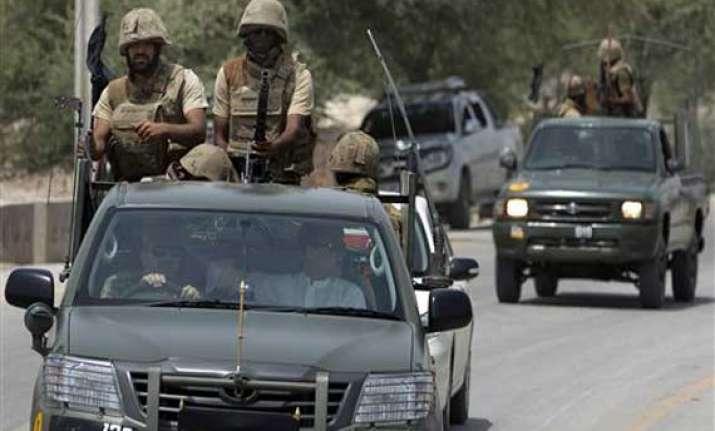 30 militants killed in pak military operation in tribal belt