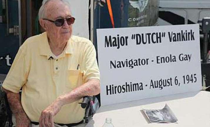 dutch the last surviving hiroshima bomb crew member dies