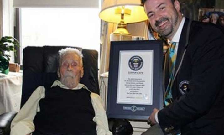 111 year old us parapsychologist alexander imich crowned