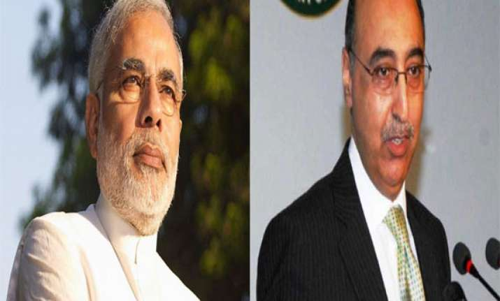 encouraged by modi s remarks on ties pak envoy