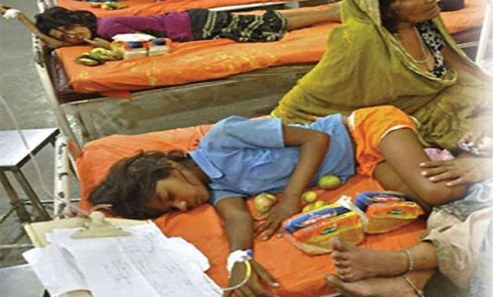 879 gurgaon children fall ill after taking iron tablets