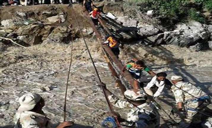 138 evacuated from rain ravaged kinnaur