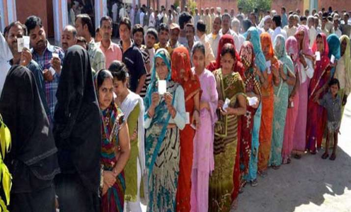 jharkhand records 63.55 per cent polling